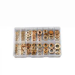 Copper Washers, Assorted Box