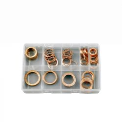 Large Copper Washers, Assorted Box