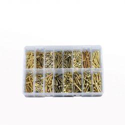 Brass BA Fasteners, Assorted Box