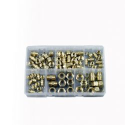 Brass Tube Couplings, Assorted Box