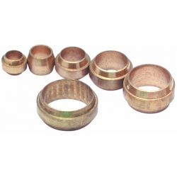 Brass Stepped Olives, Assorted Pack