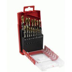 HSS (Tin) Jobber Drill Compact Set