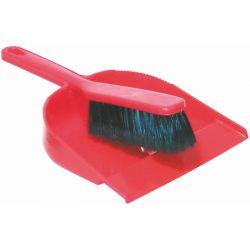 Dustpan & Clip-on Brush