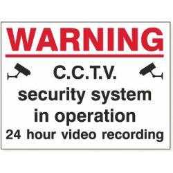 Warning CCTV