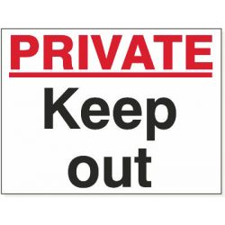 Private Keep Out