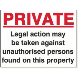 Private Legal Action
