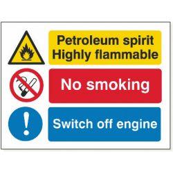Petrol No Smoking