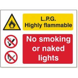 LPG No Smoking