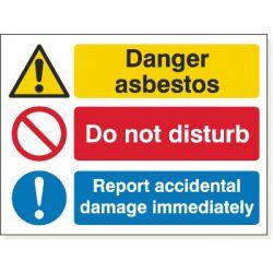 Danger Asbestos