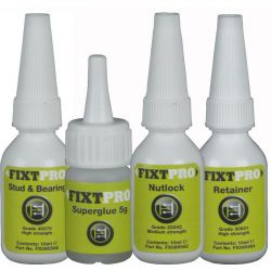 FIXT Anaerobic Adhesives, Assorted Pack