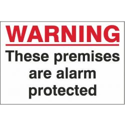 Warning Premises Alarm
