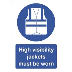 High Vis Jackets Must Be Worn