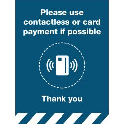 Contactless Payment Sign