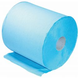 Small Blue Paper Roll, Continuous Sheets