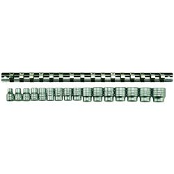 Metric Socket Clip Rail - 3/8