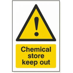 Chemical Store Keep Out