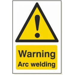 Warning Arc Welding