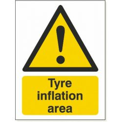 Tyre Inflation Area Sticker